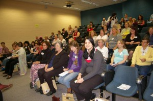 Attendees at the 2012 WriteFest
