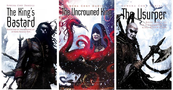 King Rolen's Kin trilogy covers